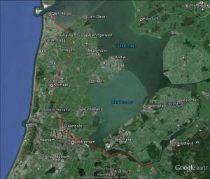 Den Helder-Nijkerk map